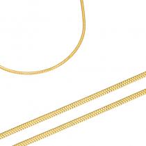 Niebanalny złoty łańcuszek Prezent Grawer GRATIS