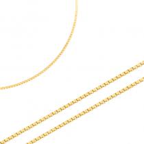 Subtelny złoty łańcuszek Prezent Grawer GRATIS