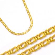 Złoty żółty stylowy łańcuszek