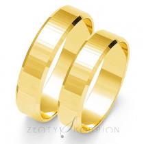 Zachwycające złote obrączki ślubne