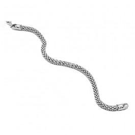 Czarująca srebrna bransoletka